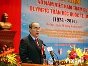 Vietnam celebrates 40 years of International Maths Olympiad participation