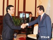 President receives RoK's Agricultural Cooperative Federation Chairman