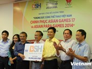 VNA newspaper supports Asian Games, Para Games medallists