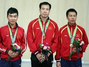 Vietnamese shooting team wins first two medals at ASIAD 17