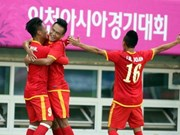 Vietnam tops Group H in ASIAD football