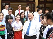 Deputy PM attends Vietnamese-Lao school's ceremony
