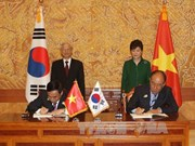 Party leader affirms partnership with RoK