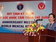 Mental health determines national prosperity: Vice President