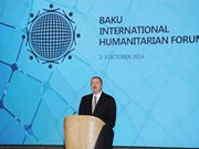 VNA chief attends int'l humanitarian forum in Baku