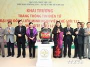 Vietnam launches website for IPU-132