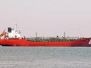 Missing oil tanker returns home