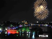 Hanoi sets off fireworks to celebrate Liberation Day