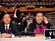 Vietnamese delegation active at IPU-131