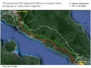 Kualar Lumpur-Singapore high-speed railway to be built