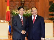 Lao capital's Lord Mayor welcomed in Hanoi