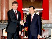 President receives Slovakian Deputy Prime Minister