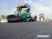 JICA provides assistance in road maintenance