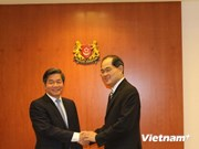 Planning and Investment Minister visits Singapore