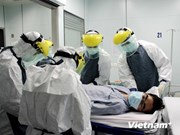 Hanoi rehearses procedures for treating suspected Ebola patients