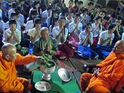 Tra Vinh celebrates intangible heritage Ok Om Bok festival