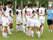 Vietnam face Palestine in friendly match