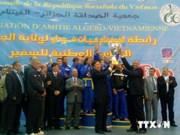 Second Vovinam tournament held in Algeria