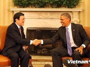 President Truong Tan Sang meets US, Japanese leaders