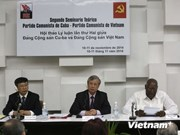Vietnam, Cuba holds second Party theory seminar