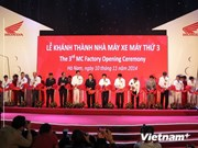 Honda Vietnam inaugurates third motorcycle plant in Ha Nam