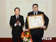 Medal awarded to Vietnam-based TASS chief representative