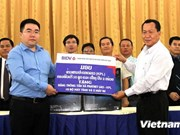 Vietnamese bank supports Lao press