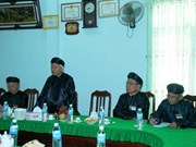 Hoa Hao Buddhist sect leaders review yearly operation
