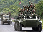 Cambodia's army launches live–fire drill