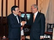State President bids farewell to Bangladeshi ambassador
