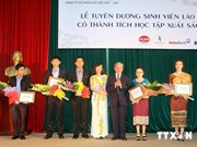 Close to 7,800 Lao students pursue uni courses in Vietnam