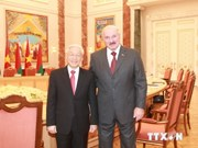 World media highlight Party leader's Russia, Belarus visits