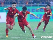 Vietnam drop two places in world football rankings