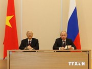 Party leader wraps up Russia, Belarus visits