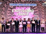 International travel agencies honoured