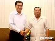 Vietnam, Laos enhance joint work in ethnic affairs