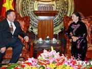 NA official receives Mongolian Auditor General