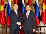 PM Nguyen Tan Dung meets Russian State Duma Chairman