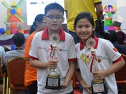 Vietnam wins seven prizes at int'l robotics contest