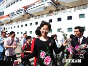 Luxury US cruise ship visits Phu Quoc Island