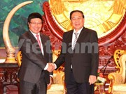 Deputy PM visits Laos to promote ties