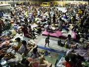 Philippines: 500,000 people evacuated from typhoon-hit areas