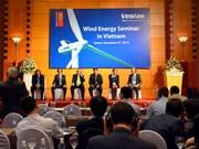 Wind power leader sees potential in Vietnam