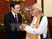 India-Vietnam Solidarity Committee's delegation welcomed