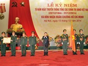 President emphasises political work in army