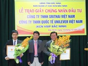 Two more projects granted licenses in Bac Ninh