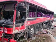 Coach accident leaves six dead, eight injured