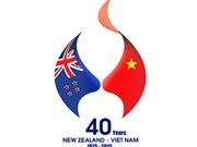 Logo of Vietnam-New Zealand's 40-year ties announced