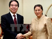 State Bank Governor visits Laos