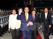 PM arrives in Bangkok for GMS Summit
